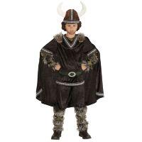 Ruig woest viking kostuum kind