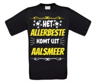 Het allerbeste komt uit Aalsmeer t-shirt