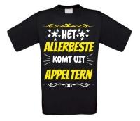 Het allerbeste komt uit Appeltern t-shirt