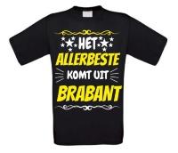 Het allerbeste komt uit Brabant t-shirt