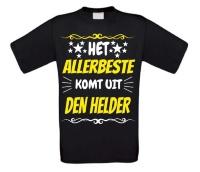Het allerbeste komt uit Den Helder t-shirt