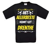Het allerbeste komt uit Drenthe t-shirt