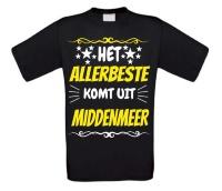 Het allerbeste komt uit Middenmeer t-shirt