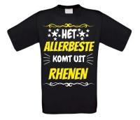 Het allerbeste komt uit Rhenen t-shirt