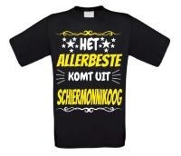 Het allerbeste komt uit Schiermonnikoog t-shirt