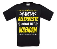 Het allerbeste komt uit Volendam t-shirt