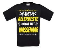 Het allerbeste komt uit Wassenaar t-shirt