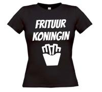 Frituur koningin t-shirt