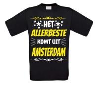 Het allerbeste komt uit Amsterdam t-shirt
