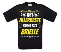 Het allerbeste komt uit Brielle t-shirt