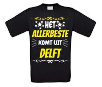 Het allerbeste komt uit Delft t-shirt