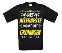 Het allerbeste komt uit Groningen T-shirt