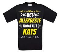 Het allerbeste komt uit Kats t-shirt