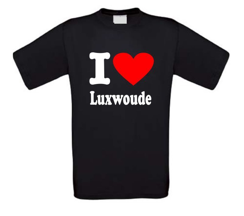 I love Luxwoude t-shirt