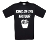 king of the frituur t-shirt