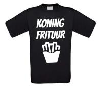 Koning frituur t-shirt