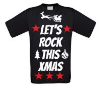 Let's rock this christmas t-shirt