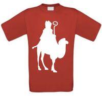 Sinterklaas op een kameel T-shirt