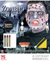 Zombie make up set met accessoires
