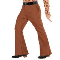 70's Disco broek heren bruin 70e jaren