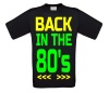 back to the 80s T-shirt heren