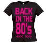 back to the eighties T-shirt dames