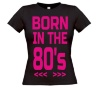 foto 1 Born in the 80's T-shirt dames