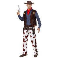 Cowboy kostuum volwassenen rocker billy