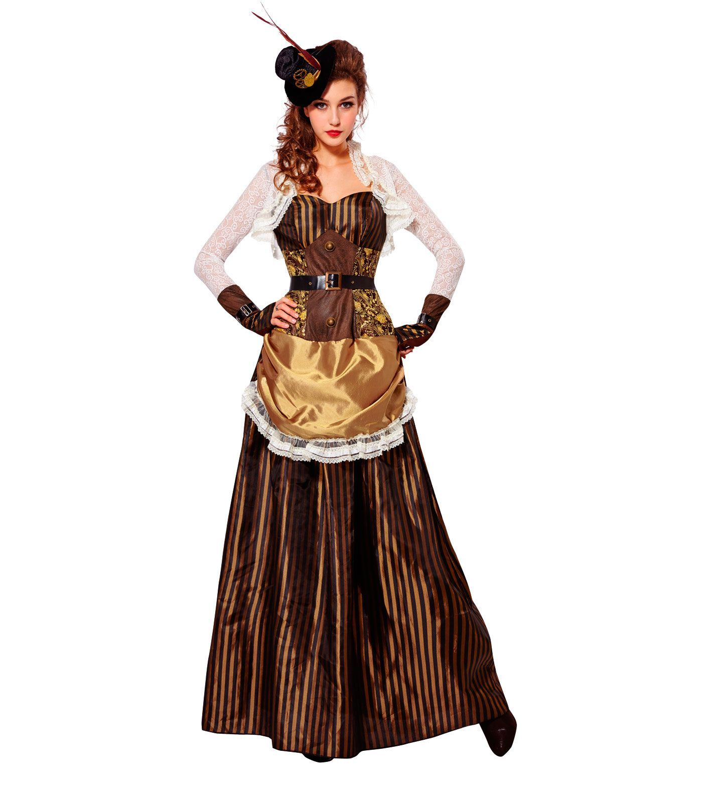 Fiction Steampunk jurk dame chique
