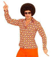 Groovy 70's disco blouse heren let's dance