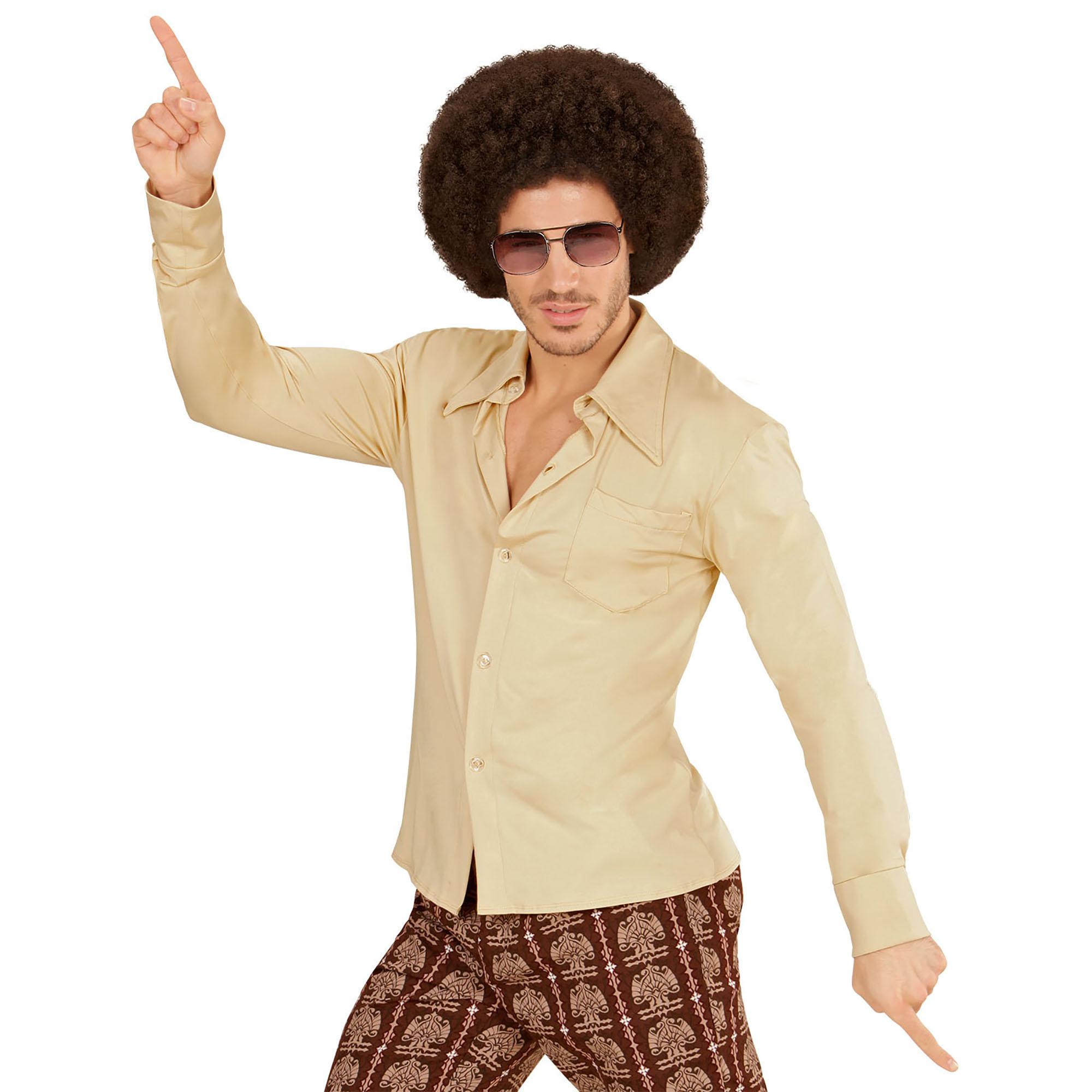 Groovy jaren 70's blouse blouse heren Goedkoop