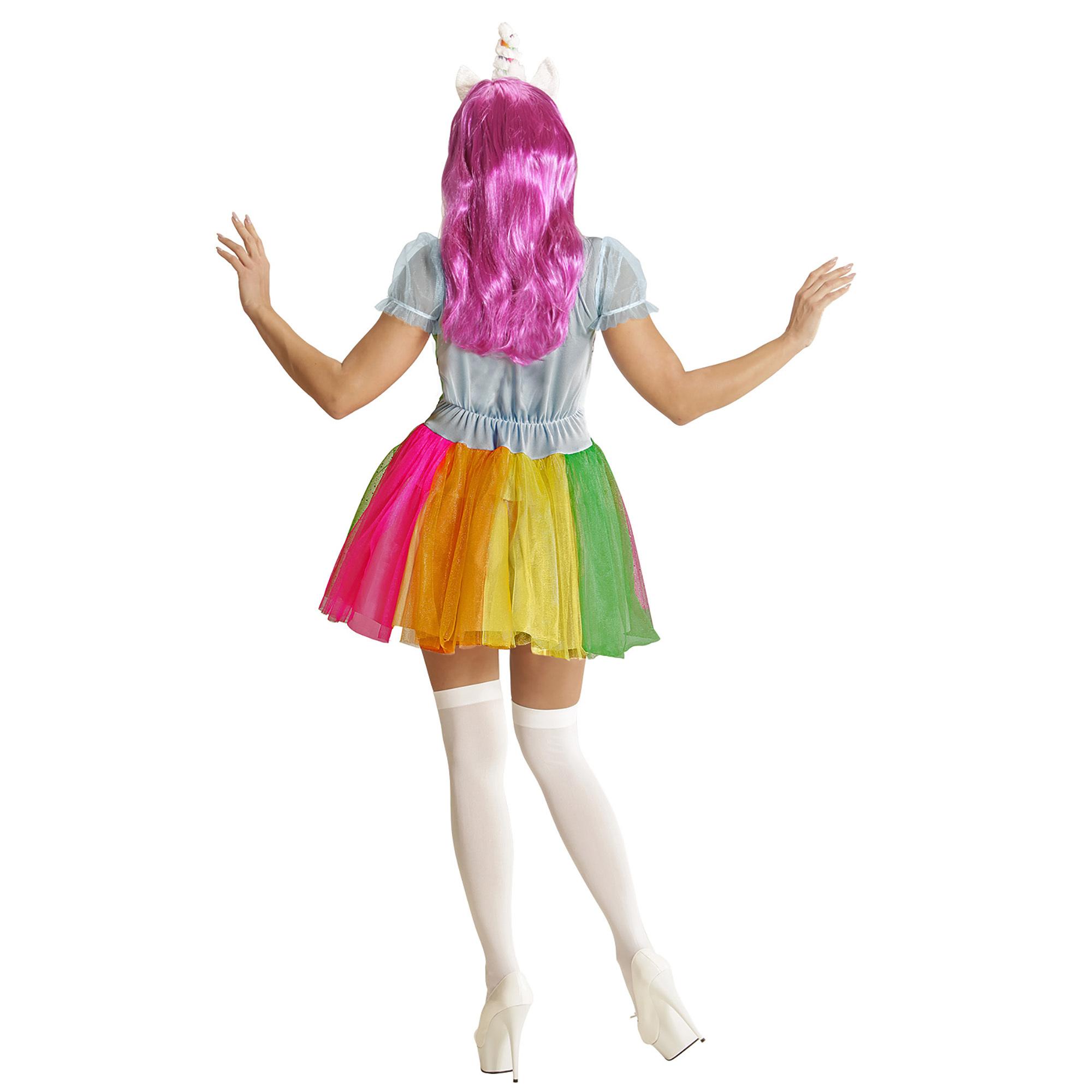 Regenboog Kleurrijke Eenhoorn Dame Regenboog Eenhoorn Kleurrijke Jurk Jurk xCQBtsrohd