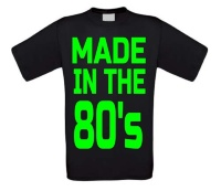 made in the 80's T-shirt heren