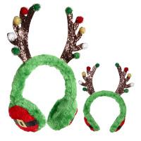 Rendier oorwarmers kerst volwassen