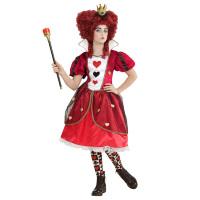 Wonderland harten koningin jurk meisje
