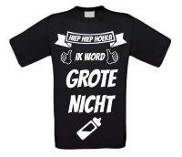 Hiep hiep hoera ik word grote nicht T-shirt