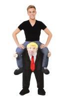 Bereden instap kostuum president Trump