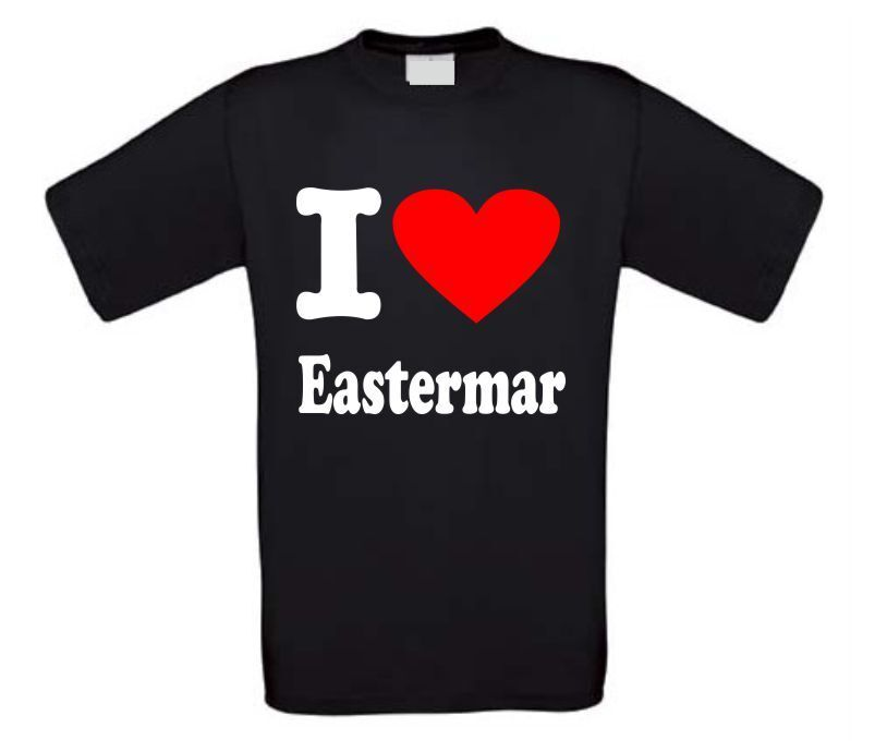 I love Eastermar t-shirt