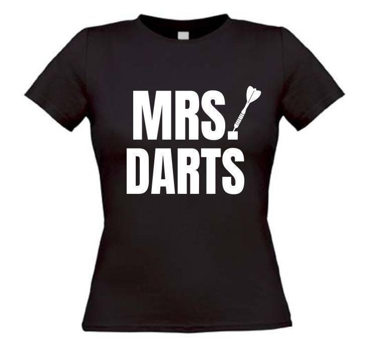 Mrs darts T-shirt