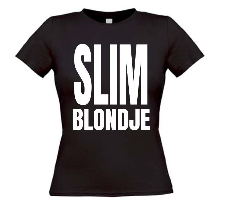 Slim blondje T-shirt