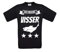 100 procent visser T-shirt
