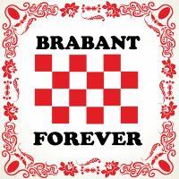 Brabant forever tegeltje