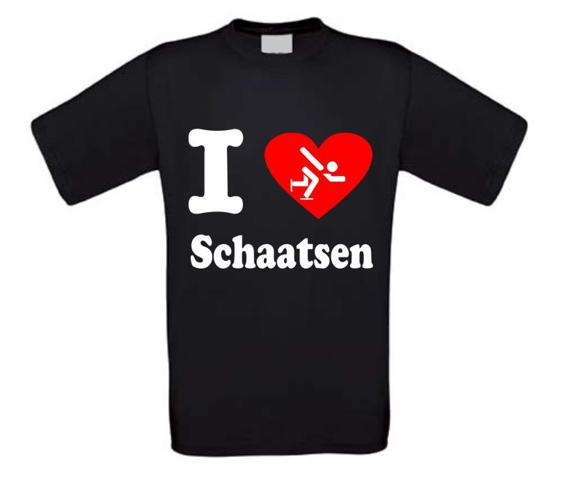 I love schaatsten T-shirt