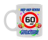 Verjaardags mok 60 jaar