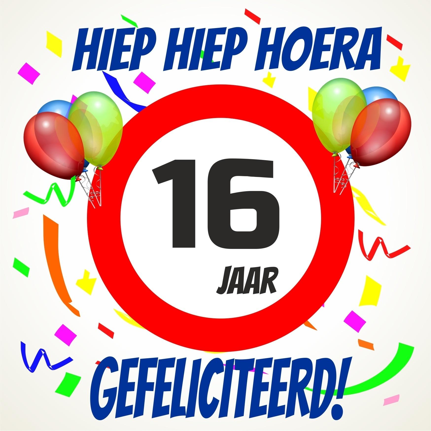 16 jaar gefeliciteerd Gefeliciteerd 16 Jaar Humor   ARCHIDEV 16 jaar gefeliciteerd