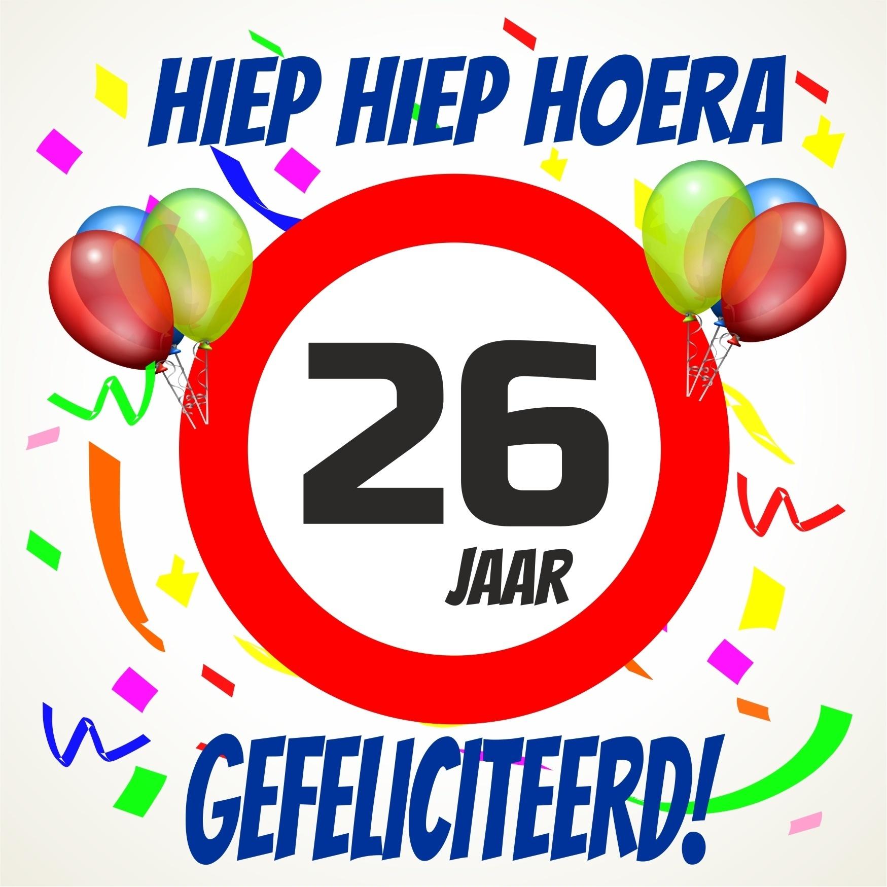 26 jaar 26 Jaar Gefeliciteerd   ARCHIDEV 26 jaar