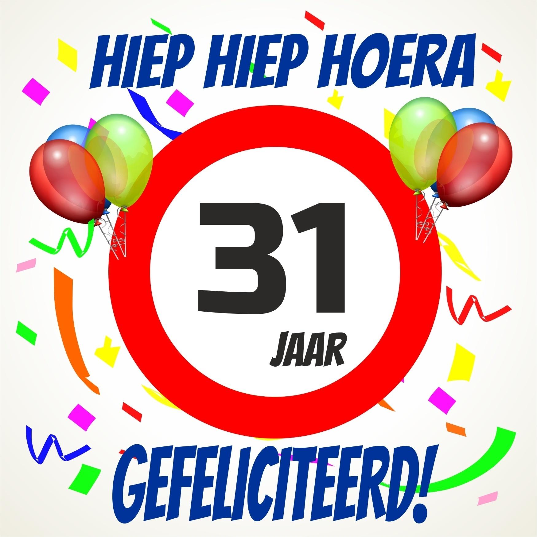 31 jaar verjaardag Gelukkige Verjaardag 31 Jaar   ARCHIDEV 31 jaar verjaardag