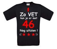 Zo vet kun je er met 46 jaar nog uitzien T-shirt
