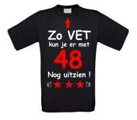 Zo vet kun je er met 48 jaar nog uitzien T-shirt