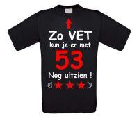 Zo vet kun je er met 53 jaar nog uitzien T-shirt